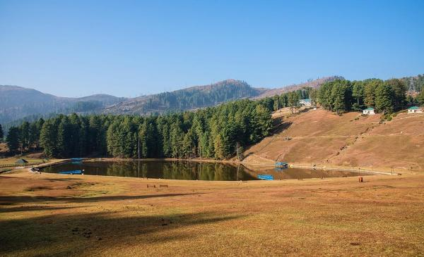 Sanasar Lake, Patnitop, Jammu