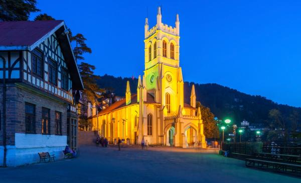 Christ Church on Ridge, Shimla